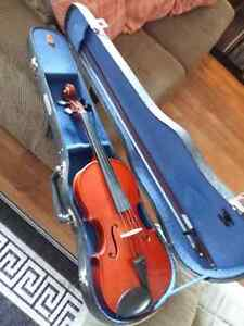 VIOLIN BUNDLE: Skylark Violin, Case, Bow, Rosen