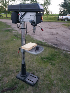 Craftsman standing Drill press with drill bits