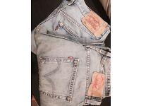 Levis men's original 501 jeans x 2