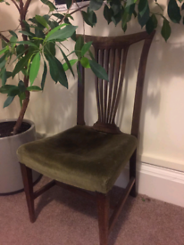 Nice antique seat velvet