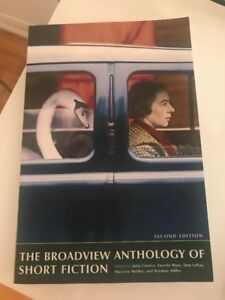 SELLING THE BROADVIEW ANTHOLOGY OF SHORT FICTION FOR $30