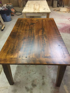Harvest Table reclaimed Barn Board