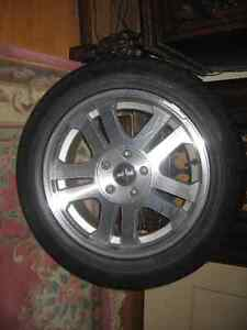 pirelli 235 55ZR17 with rims 2007 mustang gt
