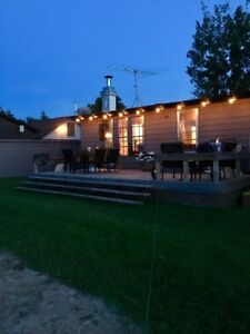 Lakefront Vacation Cabin Rental on Lac Ste. Anne
