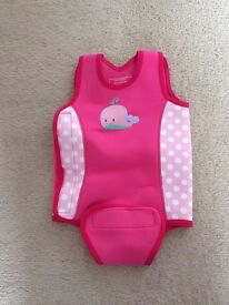 Baby girl wet suit from mothercare 12-24m