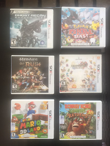 Various Nintendo 3DS Games | $10 - $20
