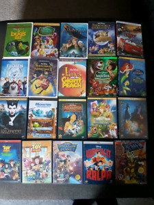 Disney DVD movies for sale.