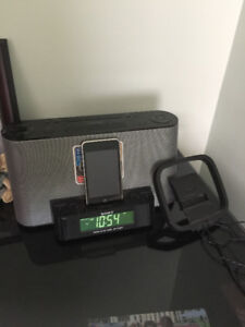Sony Stereo with time alarm, ipod included