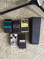 Distortions over drive pedals