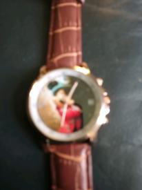 Micky Mouse watch.