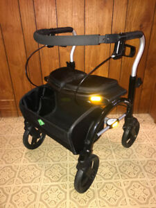 Xpresso folding walker with basket in excellent condition