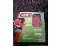 Coleman camping cookset