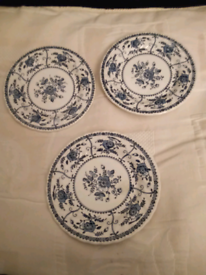Johnson Brothers Indies side plates x 3