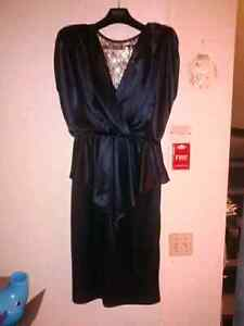 (Great for Witch) Black and Gold Jolibel Dress, Size 12 Large,