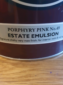 Farrow and ball 5 litre tin of paint unused. Shade