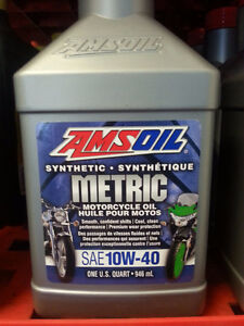 Huile Amsoil 10W-40/ Syn Amsoil Oil 10W-40