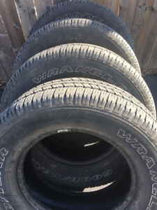 GOODYEAR 275 65 18 $280 for all 4