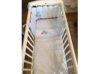 Little beep beep crib bale set