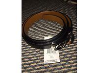 Ralph lauren belt in black brand new (harrods editon)