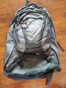 Deuter backpacking backpack, 55+10L