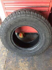 Competus Lassa 265/70R15 part worn tyre