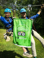 Camp Fortune now hiring aerial park and zipline guides