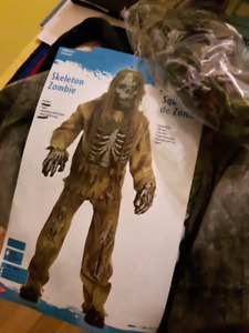 Halloween Costumes - Youth Skeleton Zombie and accessories