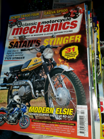 Few hundred motorcycle magz