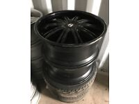 "22"" alloy wheels alloys rims tyre tyres 5x112 5x120 BMW Bentley Mercedes Vw Volkswagen t5 t6"