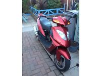 Direct bikes 125 scooter garage find project £200 Px why