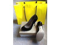 Kurt Geiger Brand New Size 5 Bella Black Patent Leather