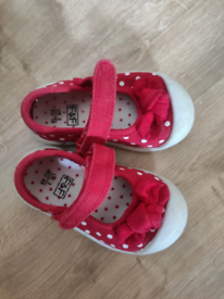 Girl F&F schoes size 3.