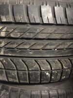 4 summer tires Goodyear f1 size 275/45/21