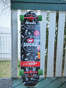 Omen Sugar longboard + Caliber trucks & assorted wheels