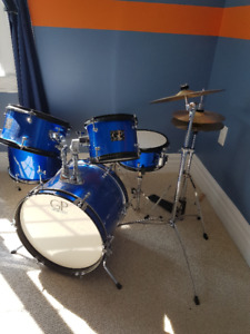5 piece youth drum set
