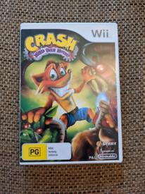 Crash Bandicoot Mind over Mutant Nintendo Wii game
