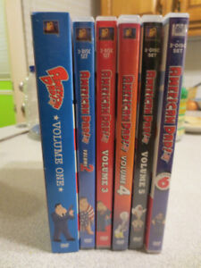 DVD American Dad Volume 1 to 6
