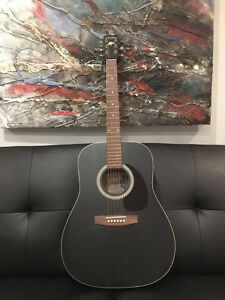 Art & Lutherie Guitar/Case/Strap - deep/rich sound