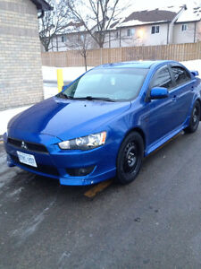 2010 Mitsubishi Lancer GTS Sedan Low kms