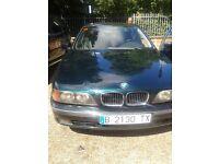 BMW 5 series 528i left hand drive