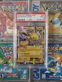 Psa 9 jolteon pokemon card