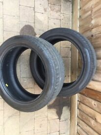 Tyres x2 225/45/17
