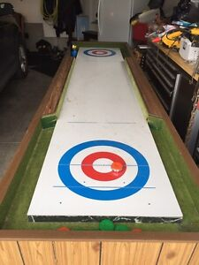 Shuffleboard table game
