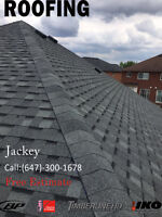 Re Replacement shingle roof flat roof Free estimate