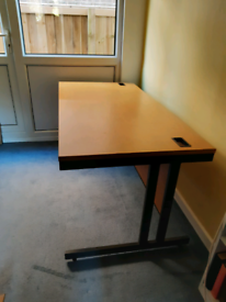 Desk for home working or craft/sewing table