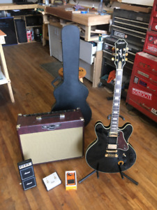Guitar kit: Epiphone Lucille & Traynor amp