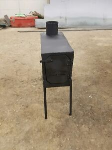 Small Wood Stove For Ice Hut