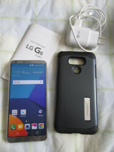 Unlocked LG G6 super-mint in retail box