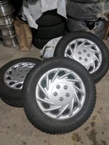 Ford Fusion/Focus winter/hiver tires/pneus