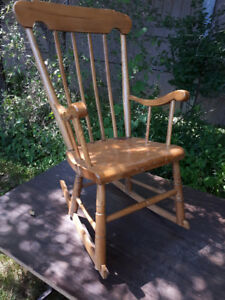 ANTIQUE CHILD ROCKING CHAIRS   $75.00 EACH